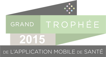 Grand Trophée 2015 de l'application mobile de santé